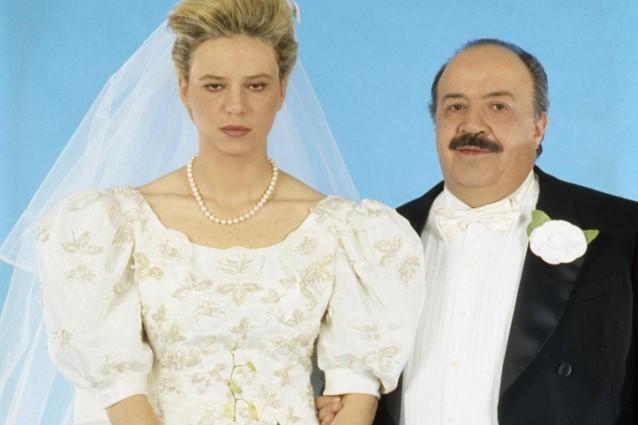 Foto di matrimonio Maria De Filippi e Maurizio Costanzo
