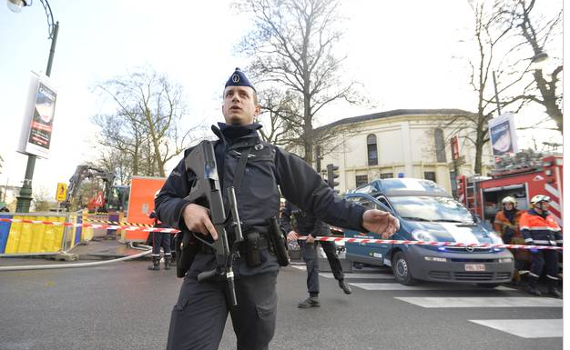 Bruxelles allarme antrace