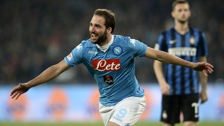 Napoli Inter 2 a 1