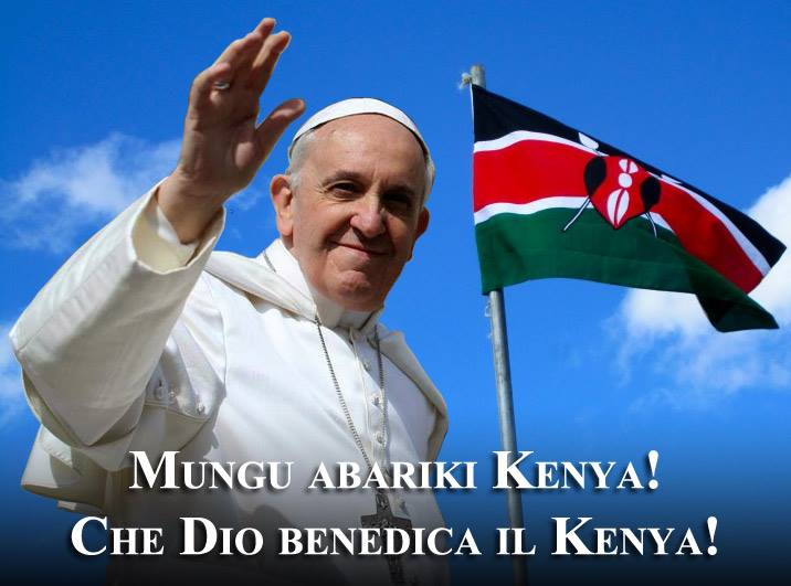 Papa Francesco in Kenia parla dell'Islam