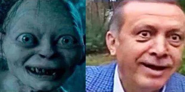 Erdogan come Gollum, medico turco rischia il carcere