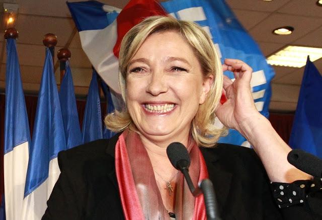 Francia: boom di preferenze per l'estrema destra di Le Pen