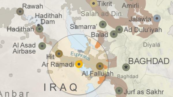 Iraq, a Ramadi si combatte una battaglia importante contro l'Isis