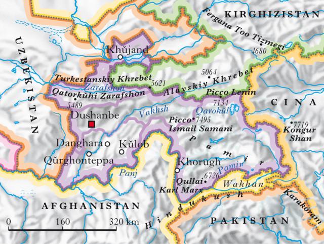 Terremoto oggi: scossa in Tagikistan fa tremare l'Asia