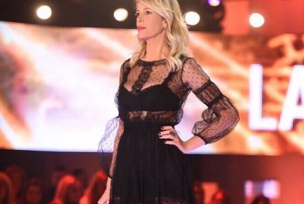 Il vestito di Alessia Marcuzzi alla finale del Grande Fratello 2015