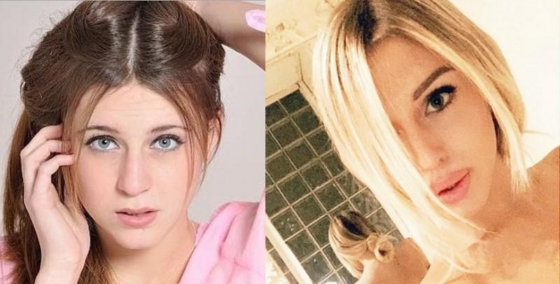 Asia Nuccetelli: il prima e dopo della figlia di Antonella Mosetti