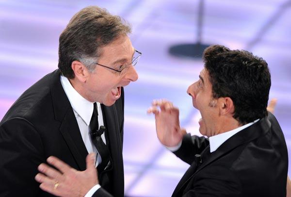 Bonolis e Laurenti in crisi per Diana Del Bufalo? Sonia smentisce