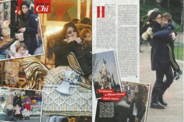 Claudia Galanti si reca a Parigi per piangere la figlia Indila