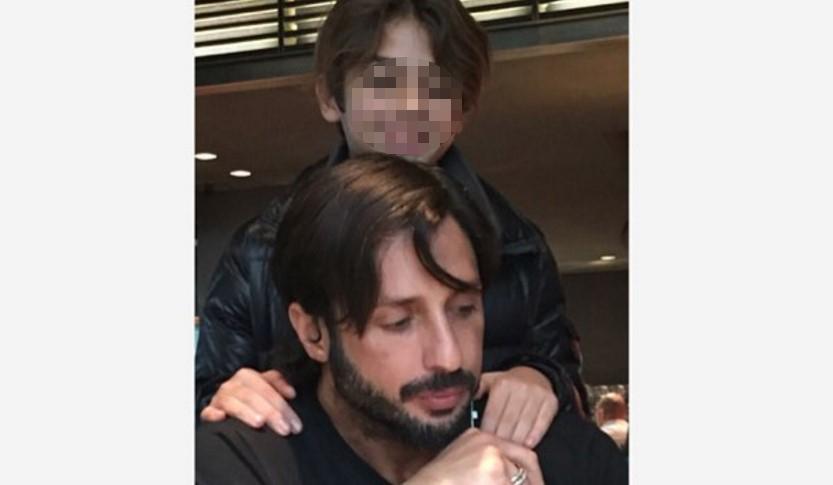 Fabrizio Corona: feste col piccolo Carlos