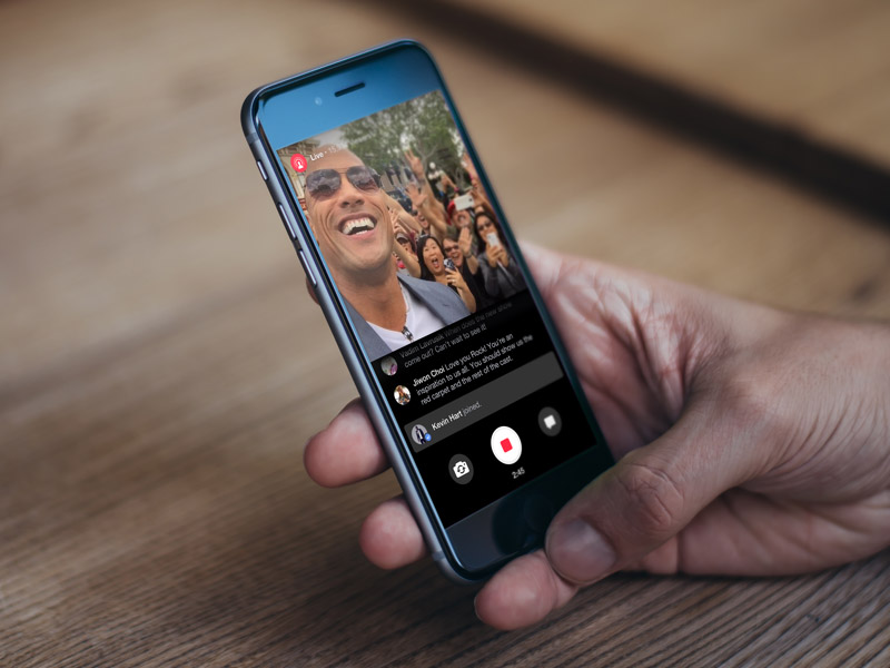 Facebook live mentions diretta streaming per gli utenti
