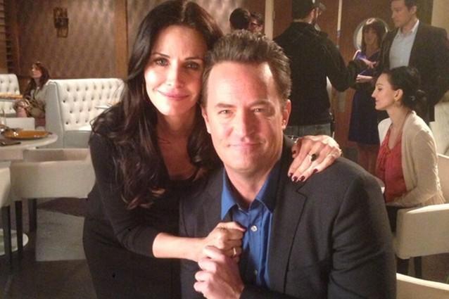 Friends, Monica e Chandler sono una coppia anche nella vita