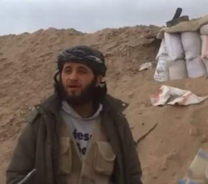 Jihadista colpito da missile durante la propaganda