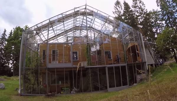 Naturehouse, casa serra in svezia