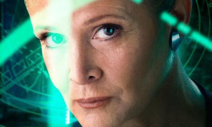 Star Wars: per Carrie Fisher è Leila la vera eroina della saga