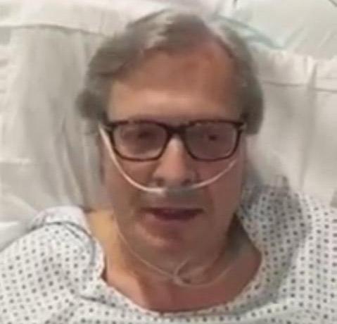 Vittorio Sgarbi, malato di cuore ricoverato Ospedale di Modena