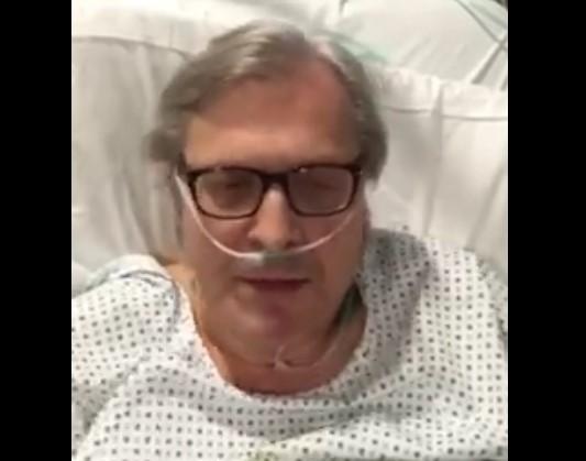 """Vittorio Sgarbi parla dopo il malore: """"Ero vicino alla morte"""""""