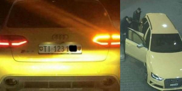 Audi gialla, un sospettato si consegna in questura: Non sono io