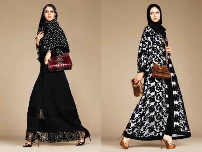 """Dolce & Gabbana lanciano """"Abaya Line"""" per donne musulmane"""