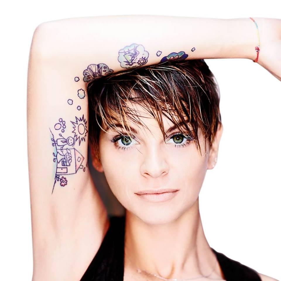 Alessandra Amoruso, alopecia da stress