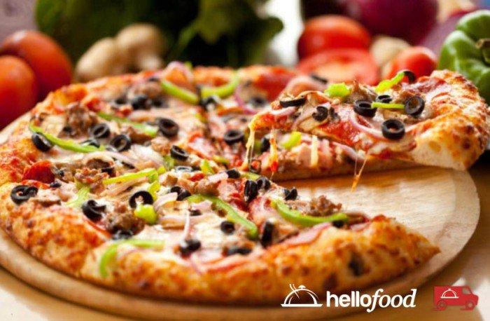 Pizza, cibo più ordinato dagli italiani con HelloFood