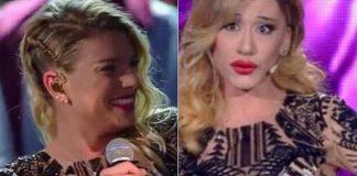 Festival di Sanremo 2016, Virgina Raffaele imita Belen Rodriguez col vestito di Emma Marrone