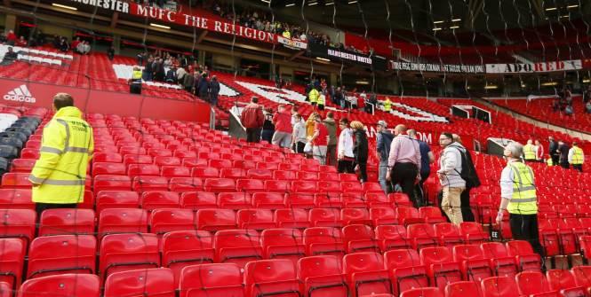 Allarme Bomba evacuato stadio Old Trafford di Manchester