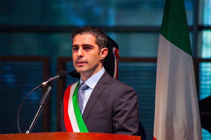 Federico Pizzarotti diretta streaming