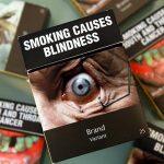 Le foto sui pacchetti di sigarette