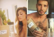 Belen Rodriguez e Stefano De Martino sponsorizzano lo stesso marchio FitTea, sono tornati insieme?