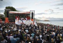 Luigi De Magistris, chiusura campagna elettorale elezioni 2016