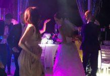 Melissa Satta e Boateng sposi: incidente dopo la cerimonia