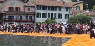 Ponte di Christo, lago d'Iseo, donna muore cade lago
