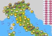 Previsioni Meteo Italia oggi, 27 al 30 giugno