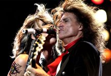Aerosmith: malore pe ril chitarrista Joe Perry