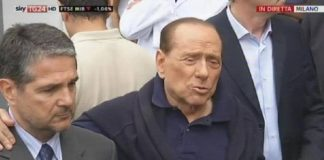Silvio Berlusconi è stato dimesso, Francesca Pascale assente