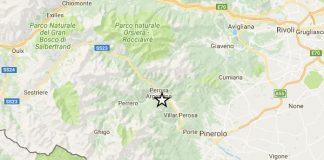 Terremoto oggi, Torino: forte scossa di magnitudo 3.9
