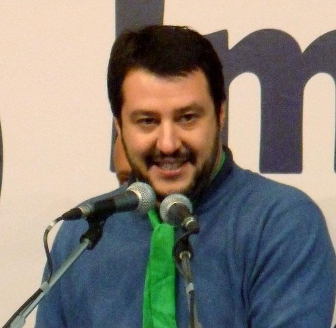 Matteo Salvini insulta Laura Boldrini