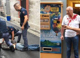 Piacenza, rapina in un tabacchi: titolare coraggioso ferma ladro
