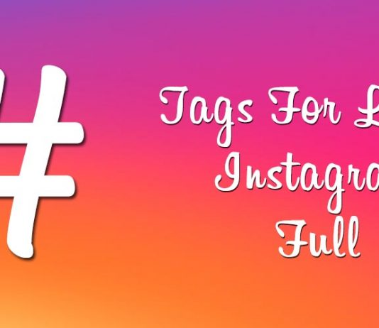 """Tags For Likes Instagram"" su Play Store fai il pieno di like!"