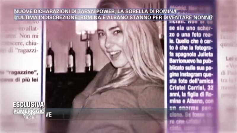 Cristel Carrisi incinta: Romina e Al Bano diventeranno presto nonni?