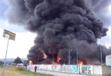Incendio a Macerata: una grave esplosione e una grande paura
