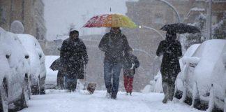 Allerta neve: ecco le città più esposte al rischio