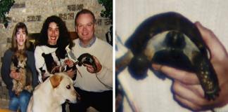 A 10 anni riceve un cucciolo di tartaruga: restano insieme per più di 50 anni