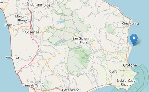 Terremoto Calabria, oggi: a Crotone scossa di media intensità