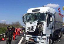 Incidente stradale A4, Milano - Brescia: una vittima